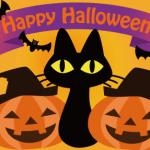 大黒猫ハロウィン