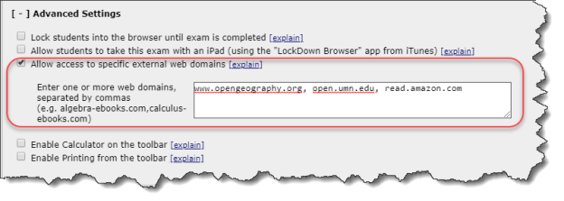 RLDB external web domains