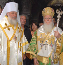 Patriarhii-cheie: Bartolomeu şi Kiril