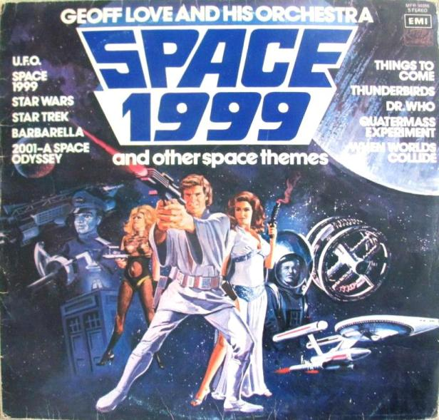Image result for science fiction theme lp
