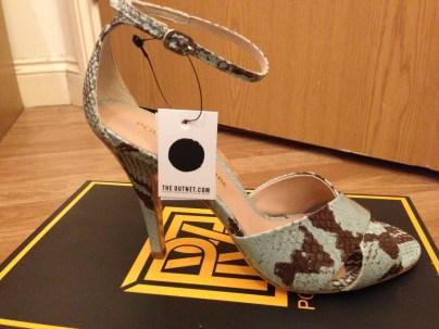 PLV shoe