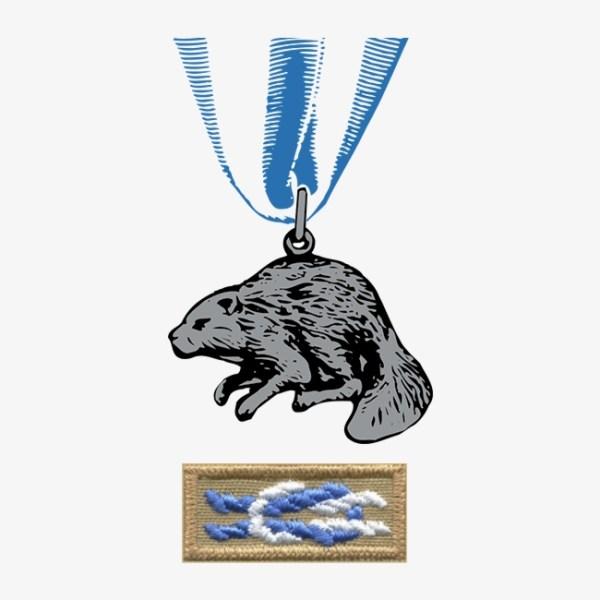 Silver Beaver Logo