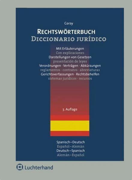 Diccionario Jurídico - Verlag Rechtswörterbuch