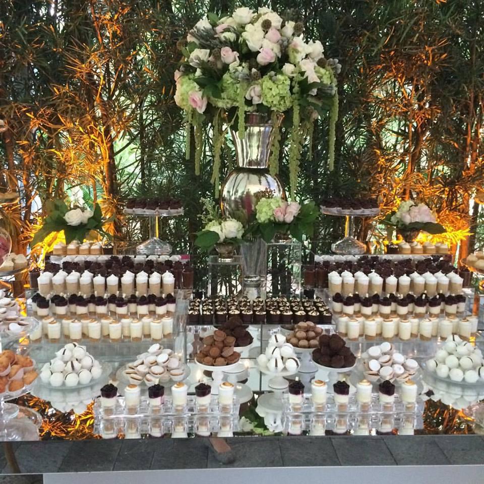 Wedding dessert table display catalinas bake shop wedding dessert table display junglespirit Choice Image