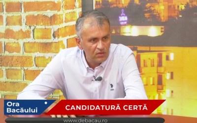 Umbrărescu, candidatul surpriză al PSD Bacău