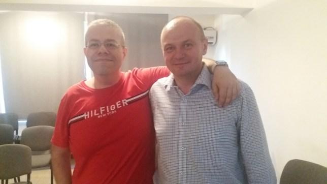Împreună cu maestrul meu Risvan Vlad Rusu - iunie 2017