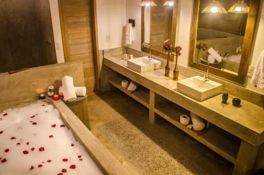 Banheiro cimento quimado