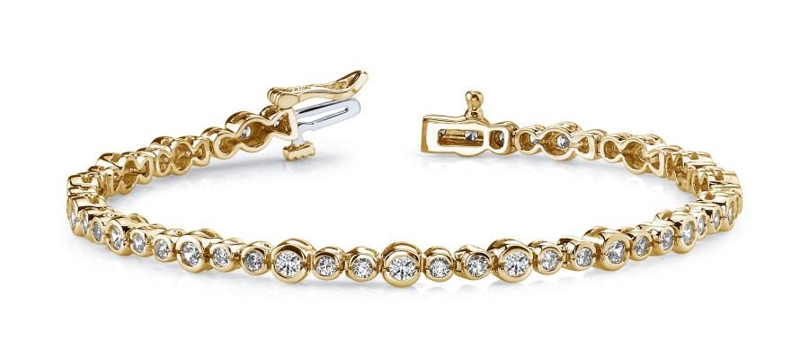 Half bezel bracelet B103-A