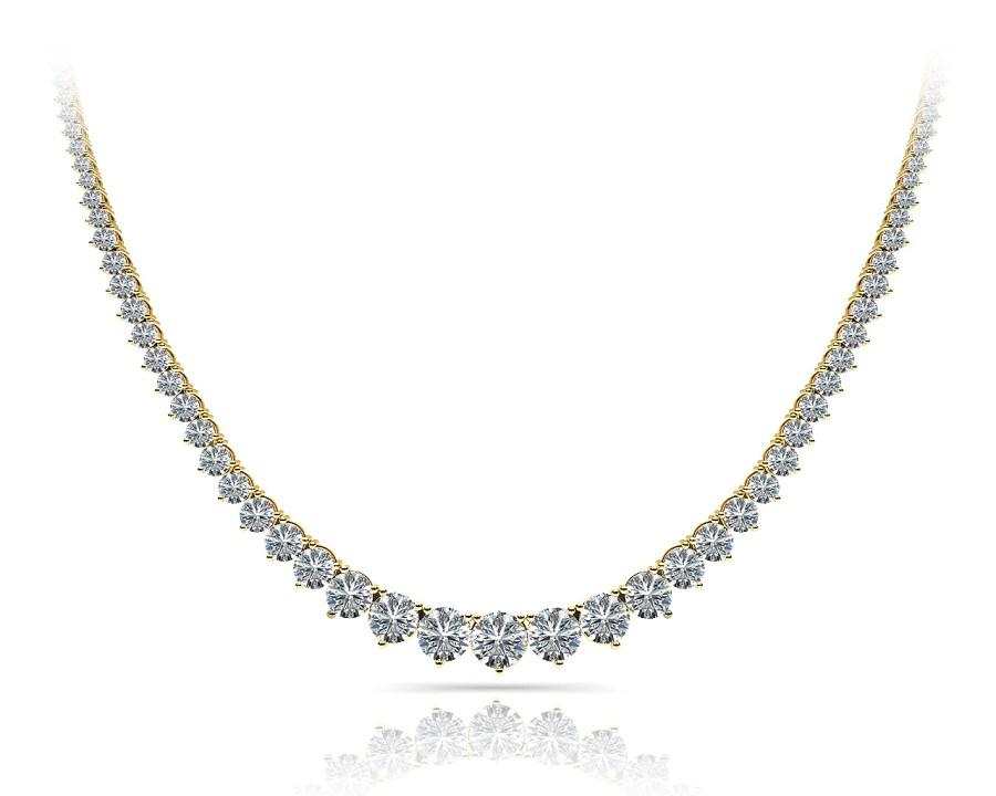 N370 diamond necklace