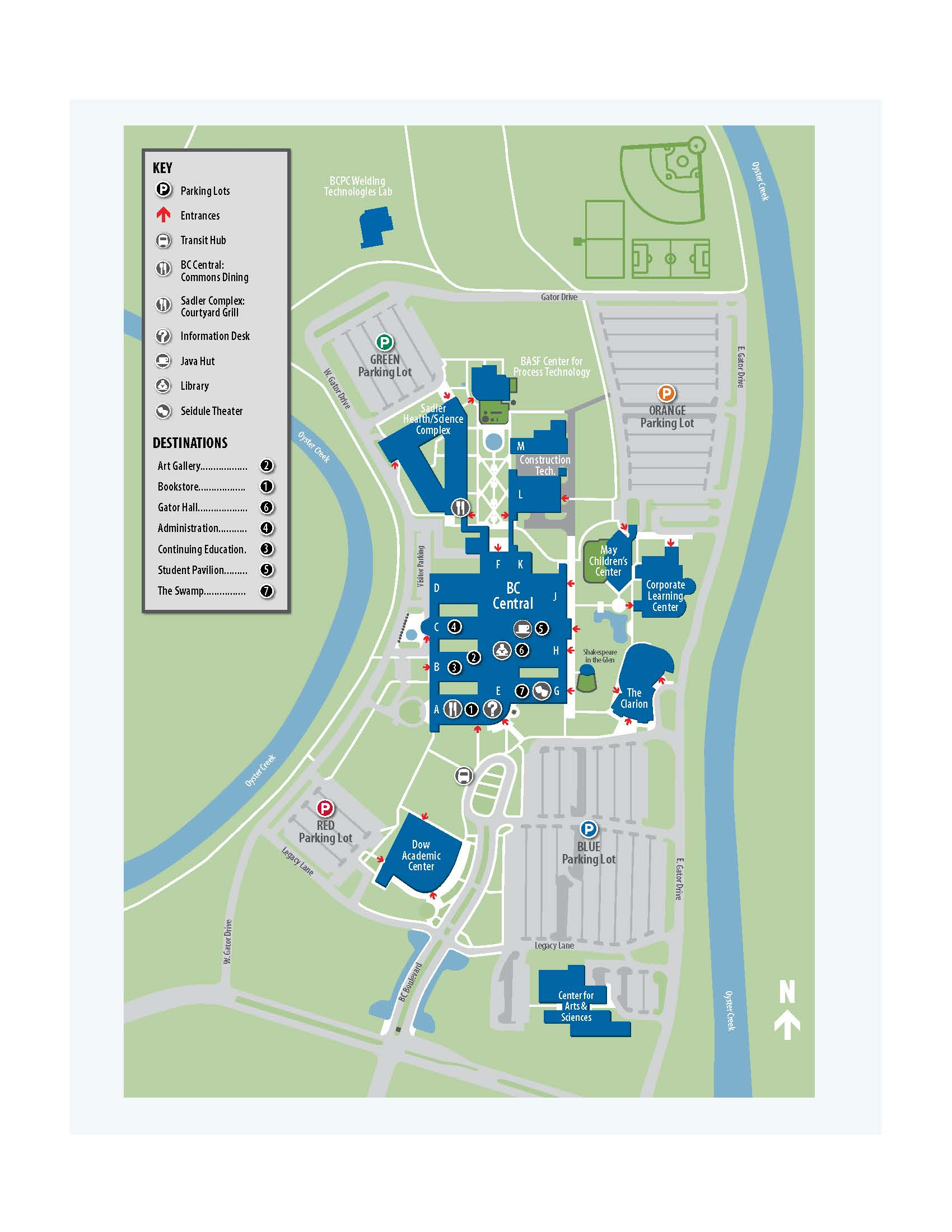 Tcnj Campus Map Gold Map Nbc Map Of Sinuses