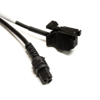 1-channel Power Fiber Optic Cable, Square Connectors