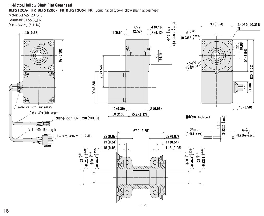 Item Blf A 10fr Brushless Dc Motor Speed Control