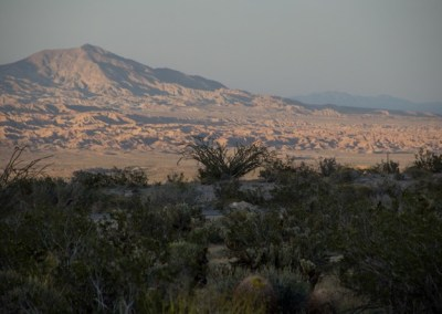 Desert mountain at Anza Borrego Desert