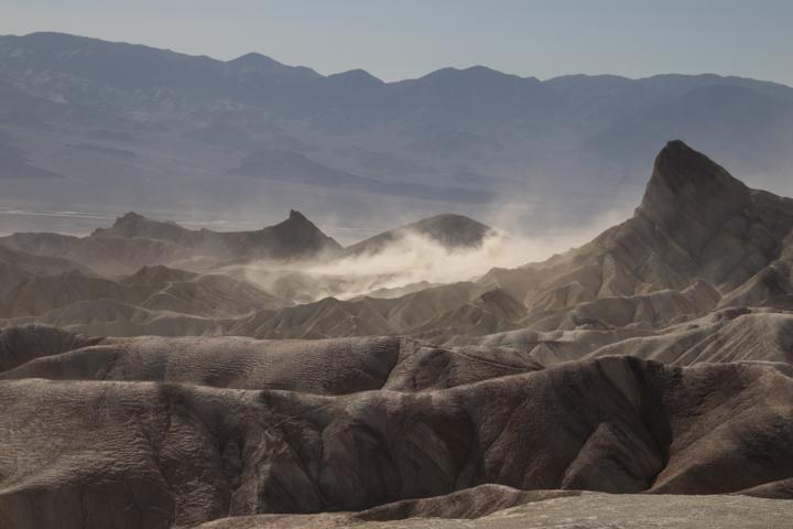 Windstorm, Death Valley