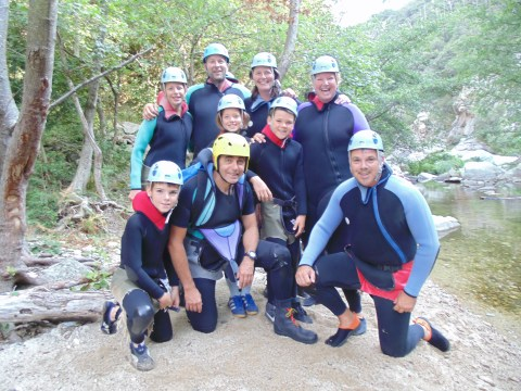 Stage Canyoning en Catalogne