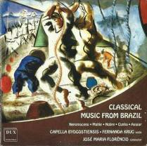 CD Classical Music From Brasil