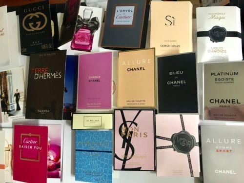 Muestras de Perfumes