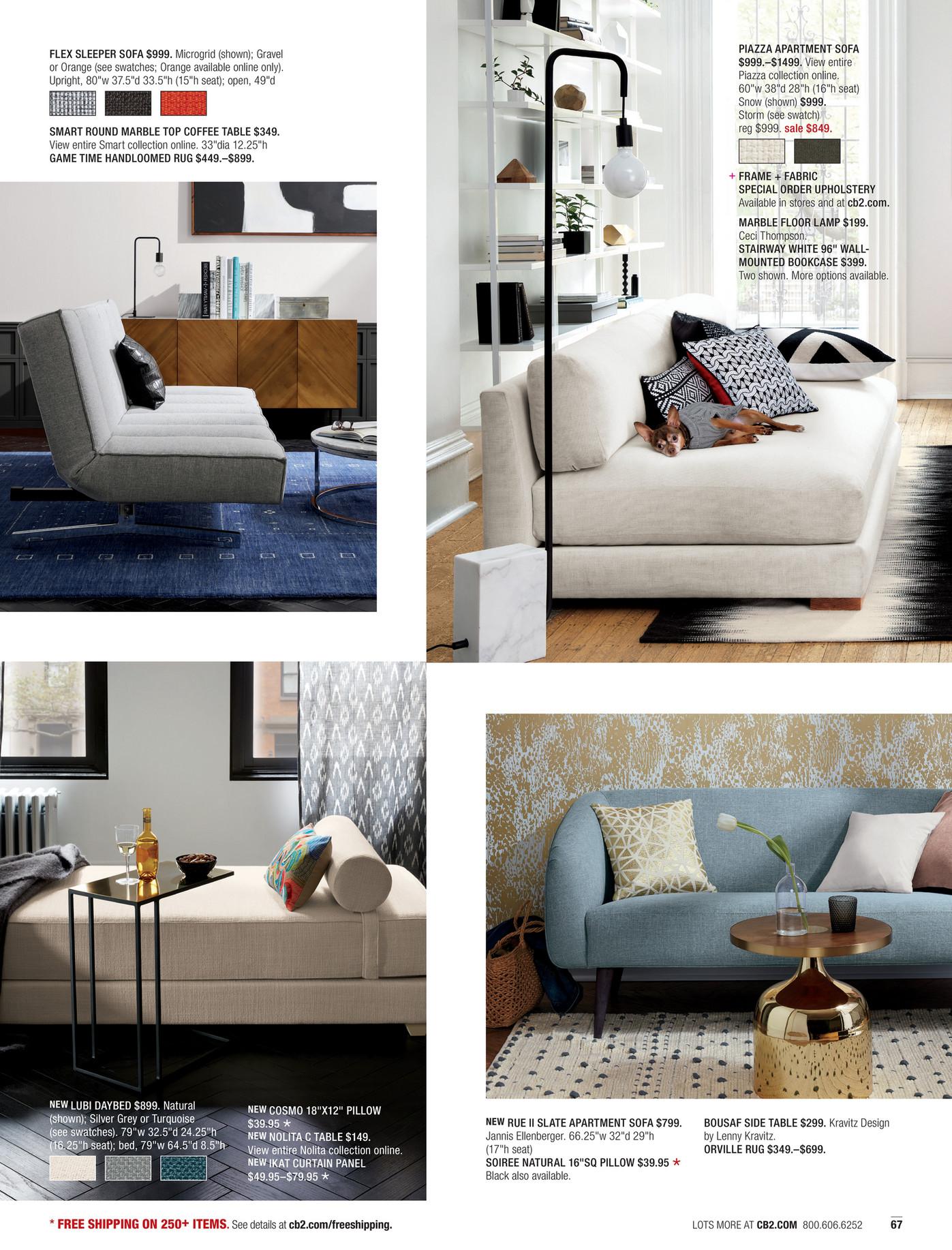Cb2 Flex Sleeper Sofa Hereo
