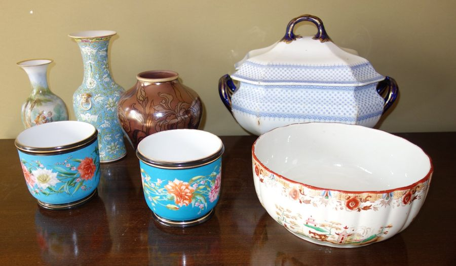 lot de vases et cache pots en ceramique auctions price archive