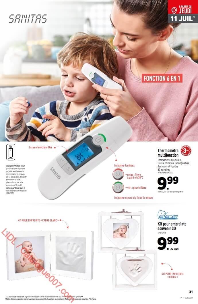lidl thermometre multifonction sanitas