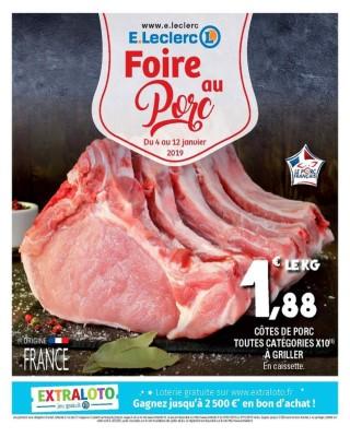e leclerc foire au porc catalogue e