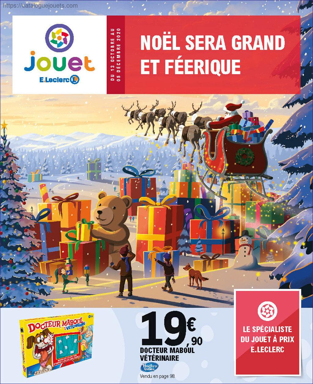 catalogue e leclerc noel 2020