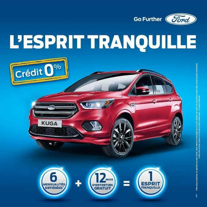 Offre spéciale Ford Kuga