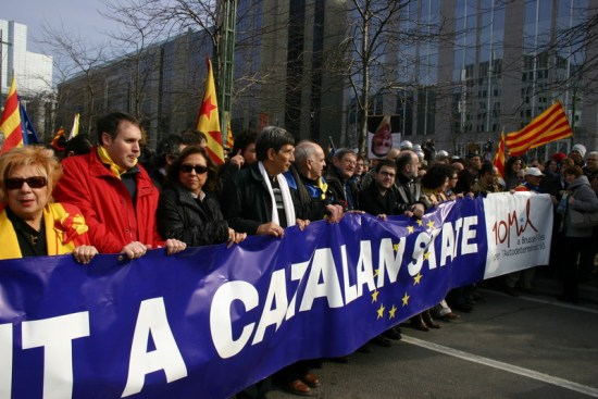 10000 Catalans in Brussels