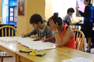 World Map Drawing Party3