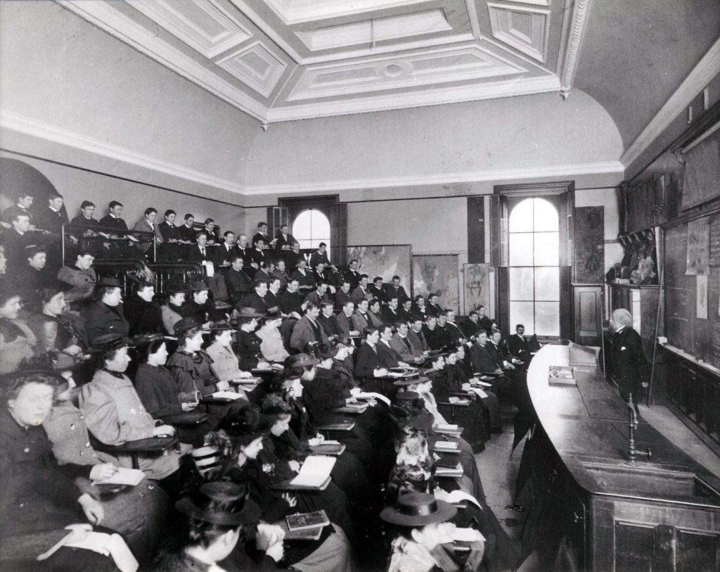 Co-Ed lecture - 1880s