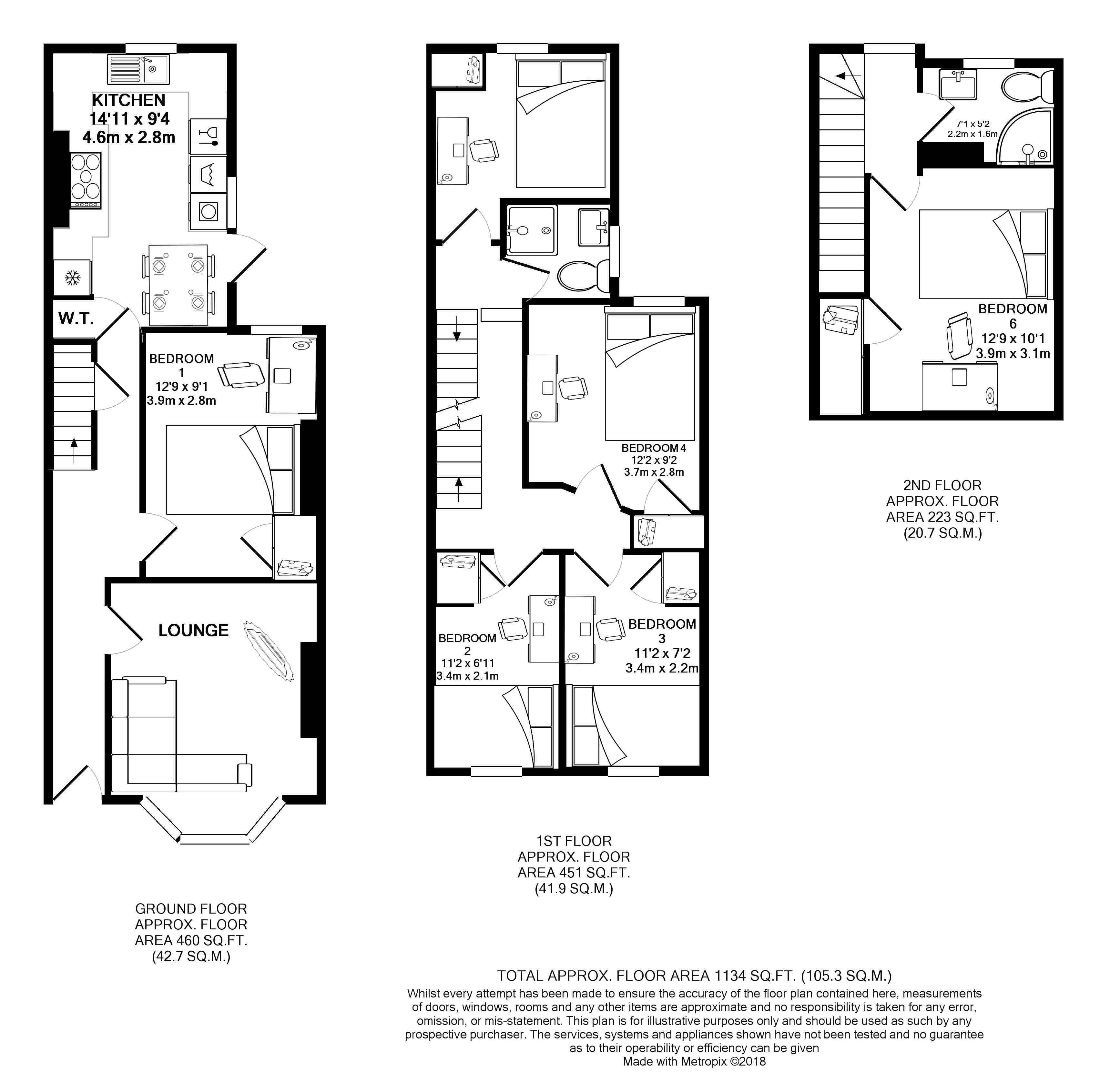 44 Manston Road 6 Bedroom Student House
