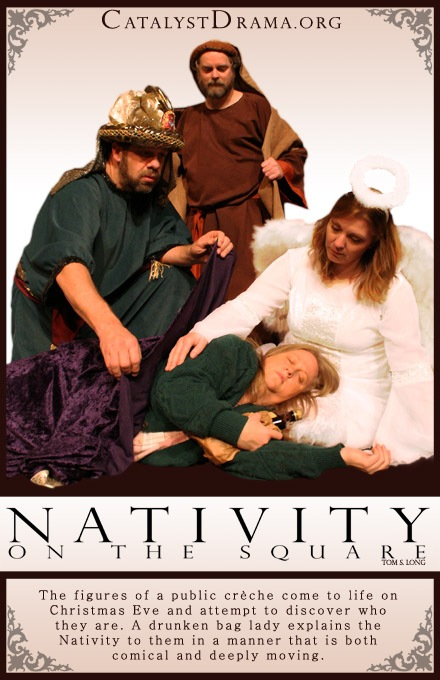 Nativity on the Square Poster