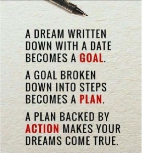 Dream Goal Plan Action