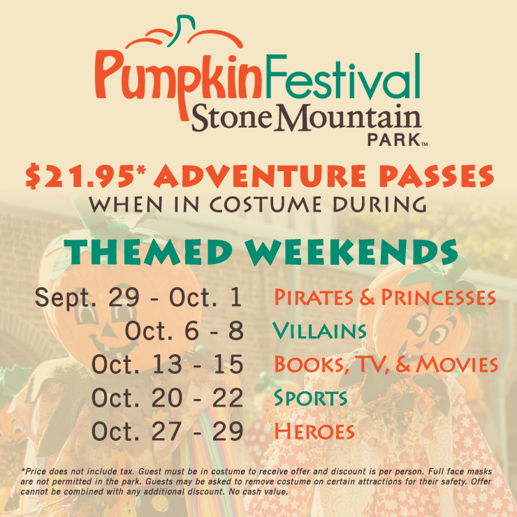 Pumpkin Festival Stone Mountain