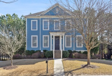 Colonial Curb Appeal + Quality Craftsman Details 1300 Celebration Way Mableton Home for Sale