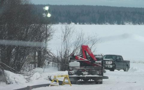 Crooked Lake - Feb, 2014