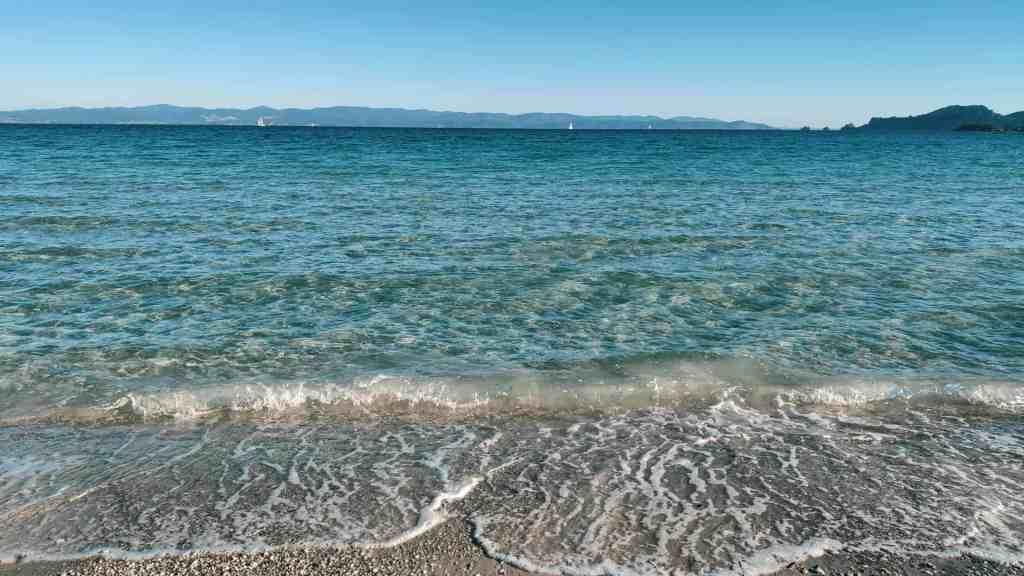 Plage paradisiaque de l'île de Porquerolles
