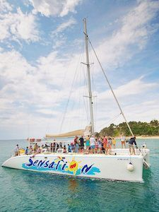 Catamaran Lloret de Mar - big parties!