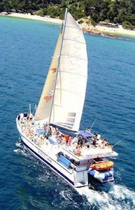 Catamaran Cruise Lloret de Mar bachelor parties