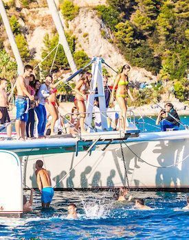 Lloret de Mar Catamaran Sensantion - bachelor parties