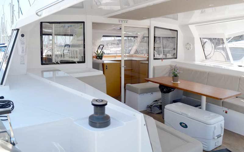 Location yacht catamaran voilier Costa Brava