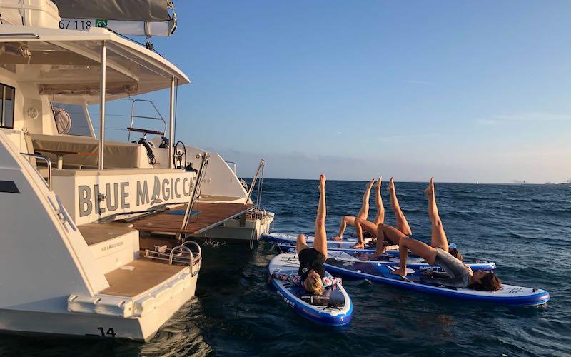 Sailboat rental Palamos