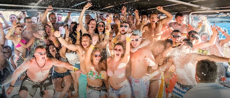 fiestas en barco y catamarán Tenerife