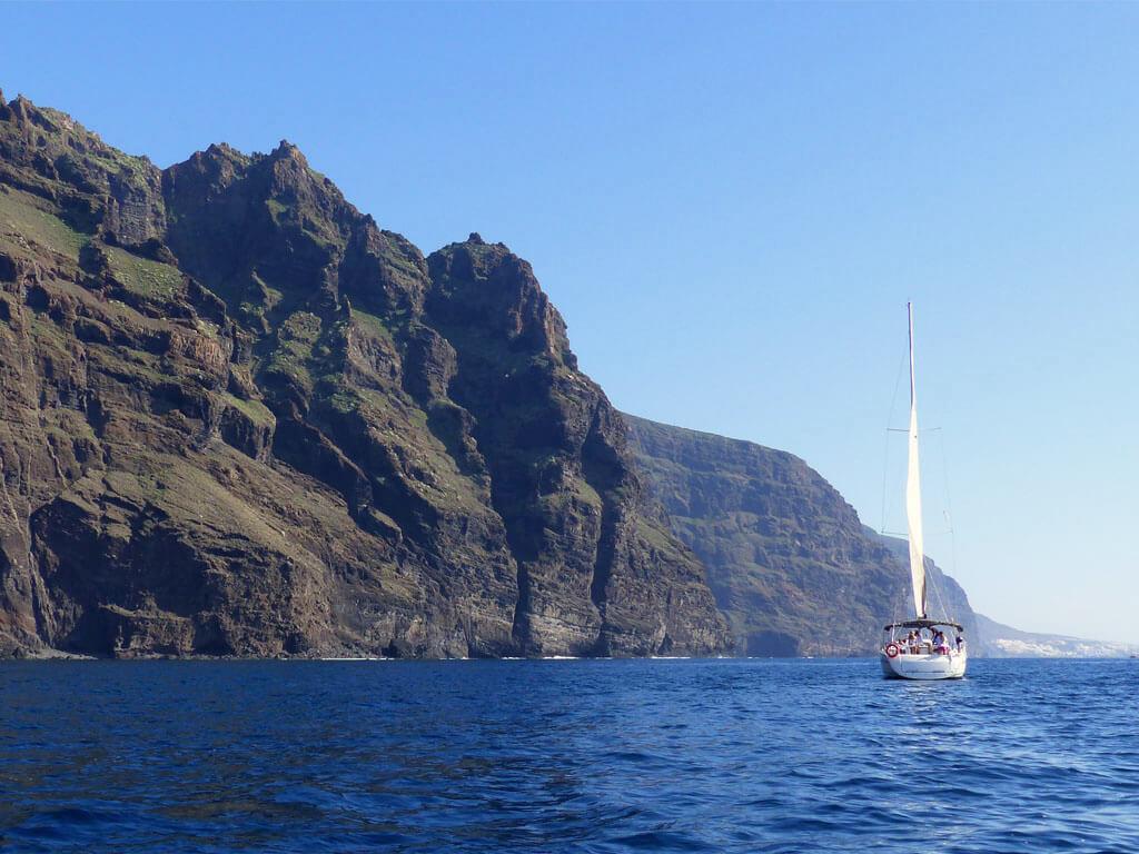 Excursiones en barco en Los Gigantes con avistamiento de ballenas y delfines