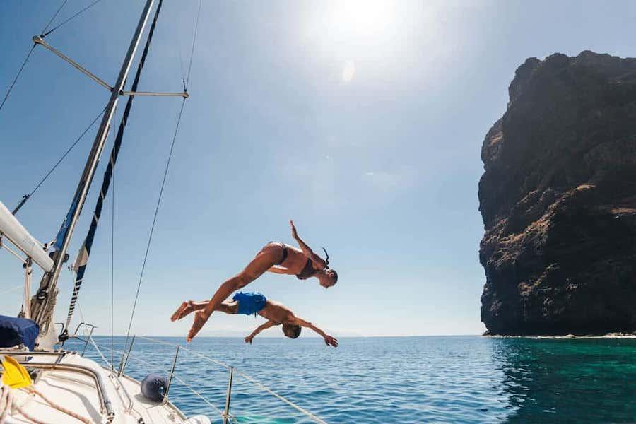 Charter de barcos y veleros en Los Gigantes Tenerife