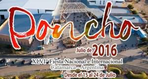 fuiesta internacional del poncho, poncho 2016, fiesta del poncho, poncho catamarca