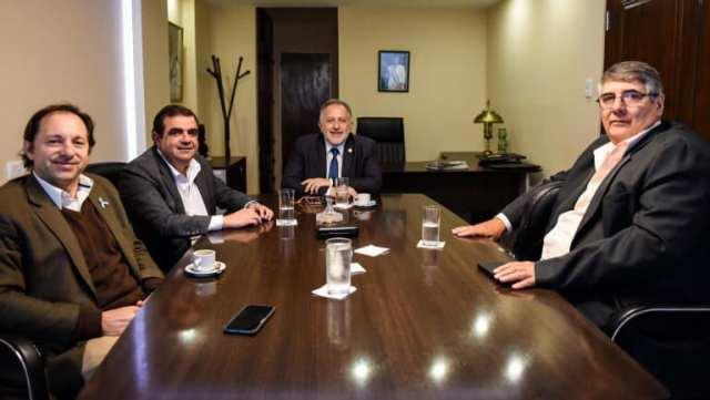 Fernando Jalil, Jorge Sola Jais, Juan Cruz Miranda, Nestor Tomassi