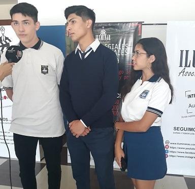 Intercolegiales audiovisuales, Alumnos escuela gob jose cubas