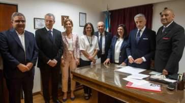Raul Jalil, Ruben Manzi, Lucia Corpacci,