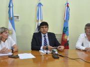 Ministra Claudia Palladino, Minsitro Hernan Martel, Ministro Guillermo Joao Andrada
